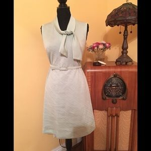 1960 mint color dress